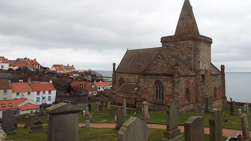 St Monans Kirk Fife coast