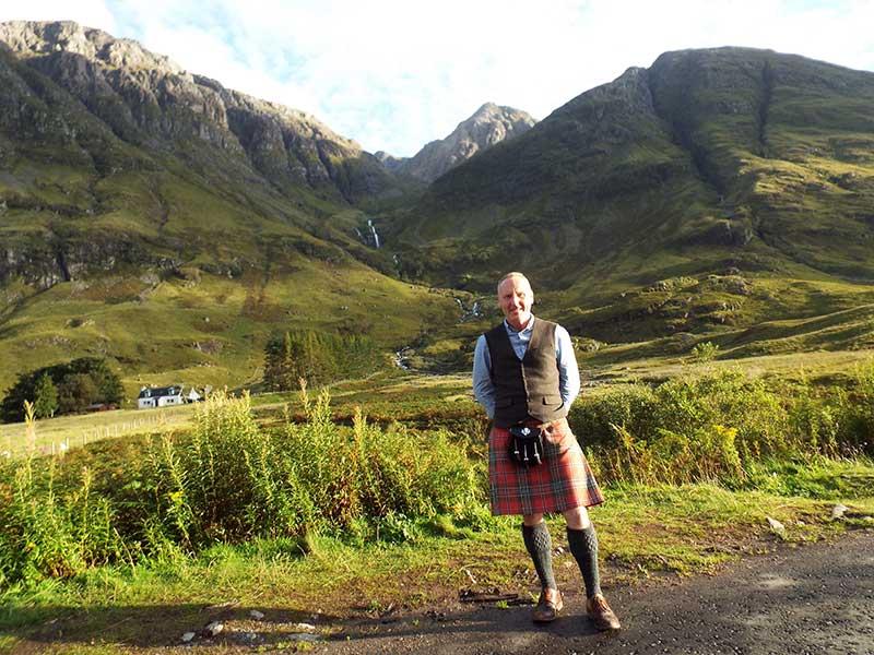 Ricky About Scotland