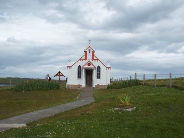 Italian Chapel - visit on our Grand Tour of Scotland
