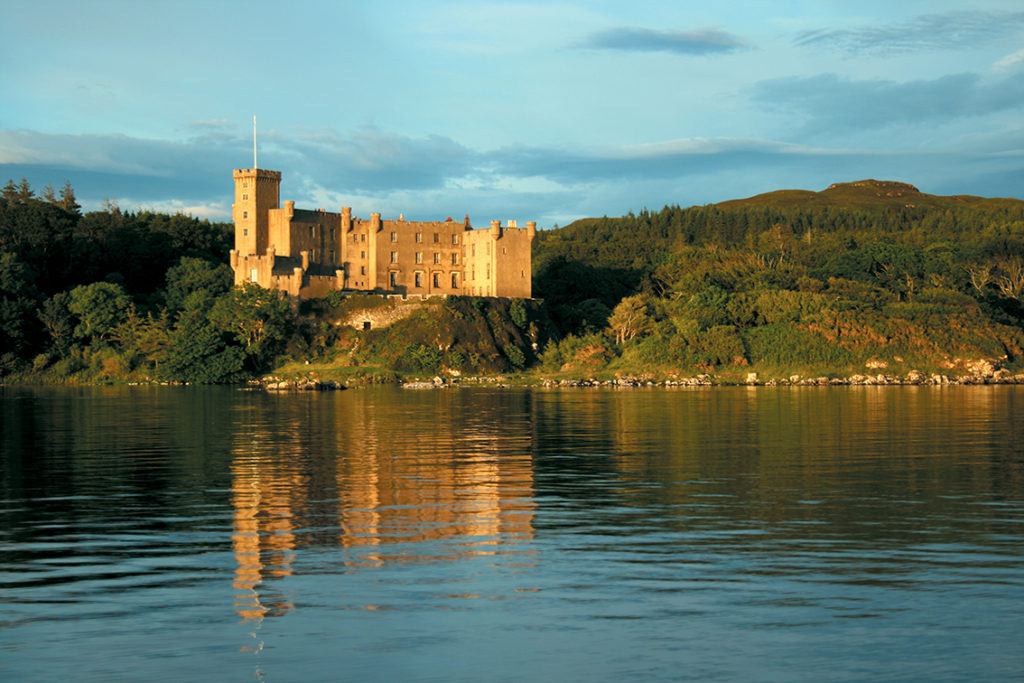 Dunvegan Castle from the sea