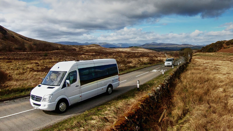 About Scotland tours - luxury transport