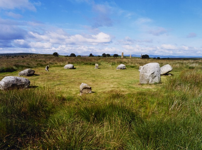 Machrie Moor Stone Circle and Standing Stones