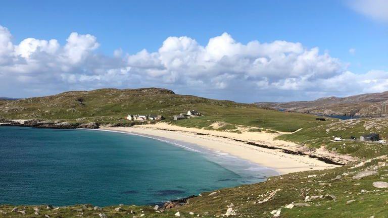 Wester Ross white beach