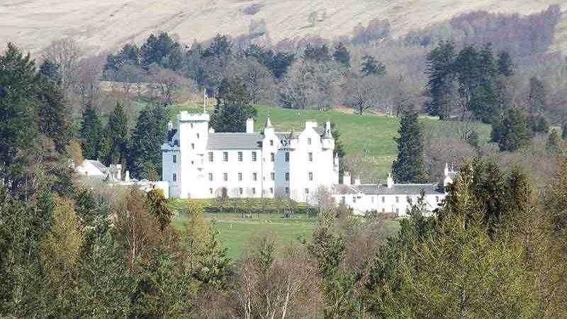 Blair Atholl Castle Perthshire