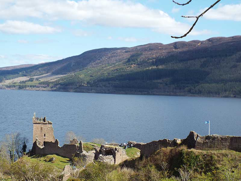 Urquhart Castle,Loch Ness - visit on our Grand Tour of Scotland