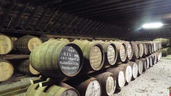 Warehouse Glenfarclas Distillery