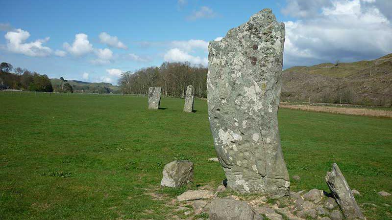 Prehistoric Standing Stones Kilmartin Glen